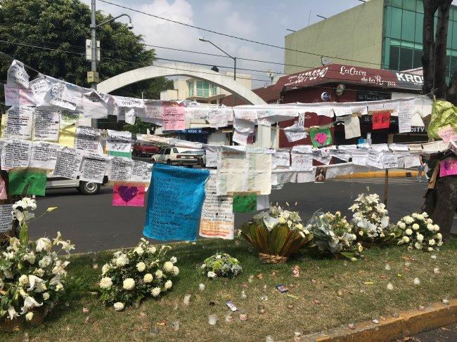 Memorial a las víctimas del colegio Rébsamen