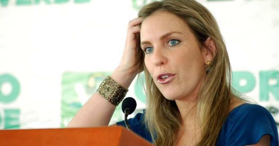 Ninfa Salinas PVEM corre a activista de Greenpeace del senado