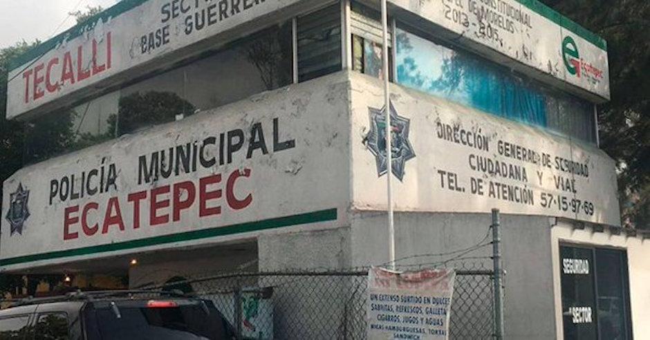 Robo 24 armas a policía municipal Ecatepec