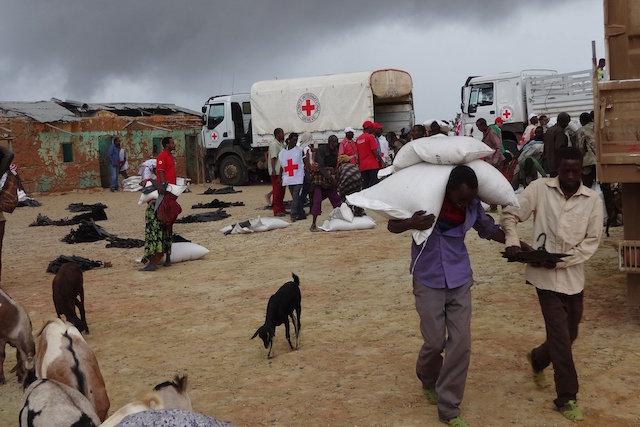 Sequía este de África emergencia por hambruna