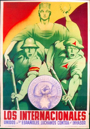 Propaganda de los brigadistas