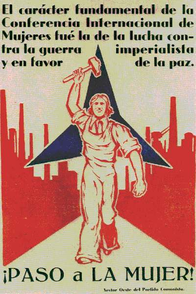 Participación de la mujer en la Guerra Civil