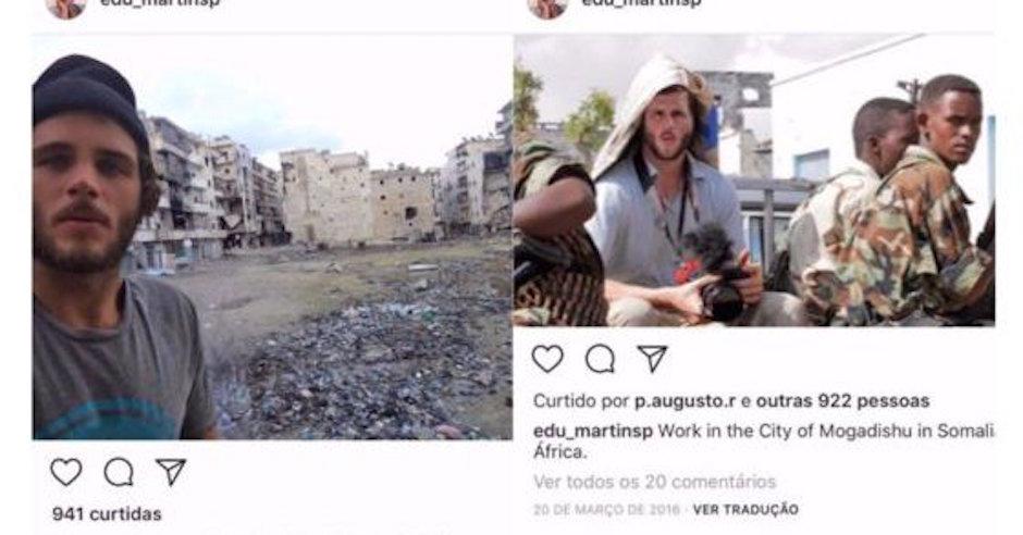 Eduardo Martins, fotos plagiadas, Eduardo Martins bbc, fotógrafo falso,