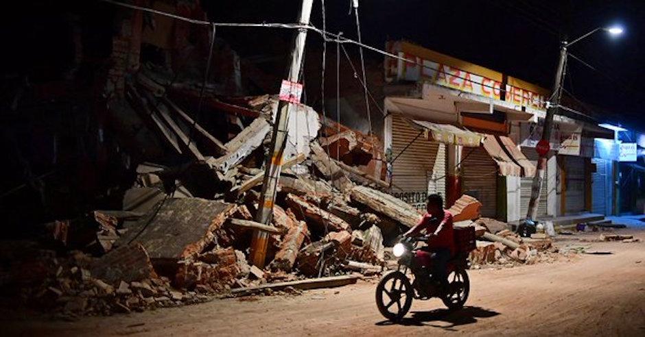 Rios Piter sismo partidos politicos presupuesto damnificados