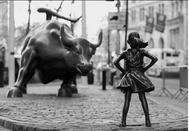Fearless girl resultó una girl sin pago igualitario