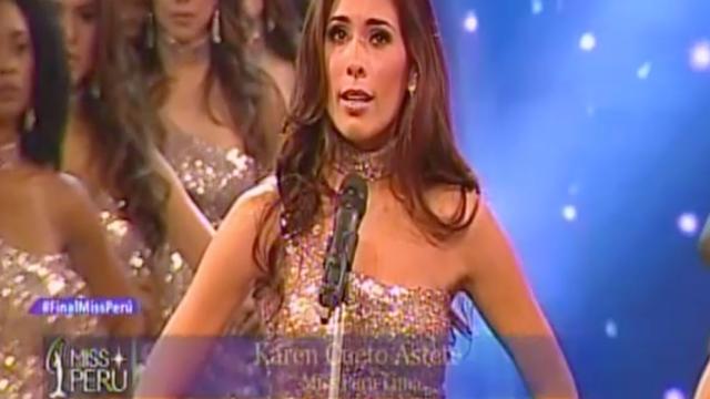 Hablar de feminicidios en concurso Miss Perú