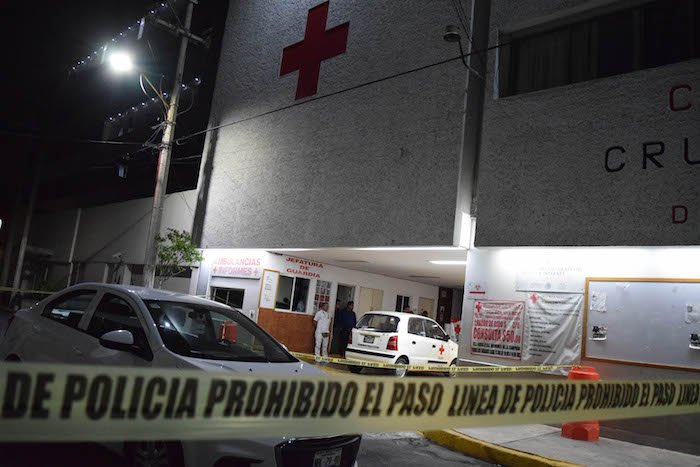 Balacera en Cruz Roja de Tlalnepantla