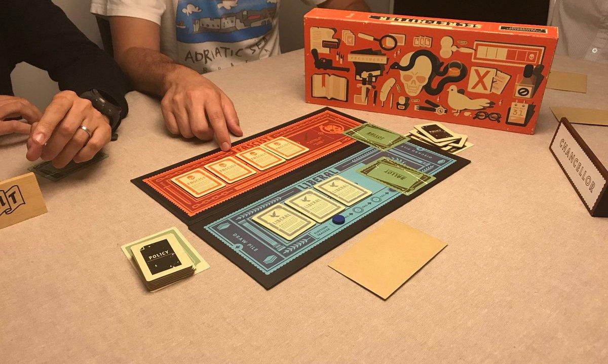 secret hitler juego de mesa fascismo