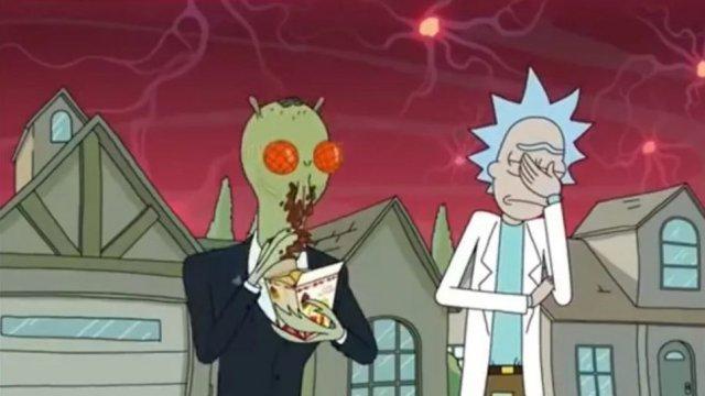 Rick & Morty Szechuan Sauce policía McDonalds