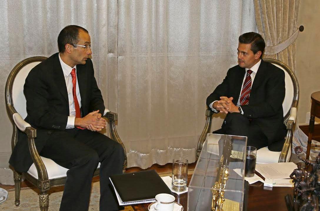 EPN sí se reunió con directivos de Odebrecht: Presidencia