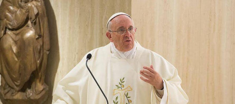 Papa dice que si se convierten, los terroristas ya no terroristearían
