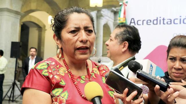 Juchitán, Oaxaca, Gloria Sánchez zapoteca alcaldesa