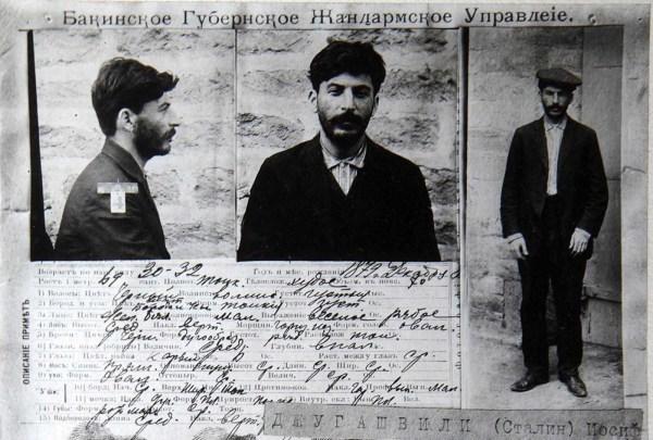 Carnet de preso político de Stalin