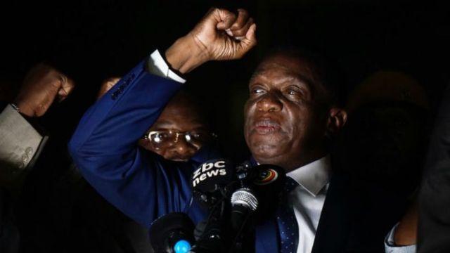 Zimbabwe tienen nuevo presidente, llama a elecciones en 2018