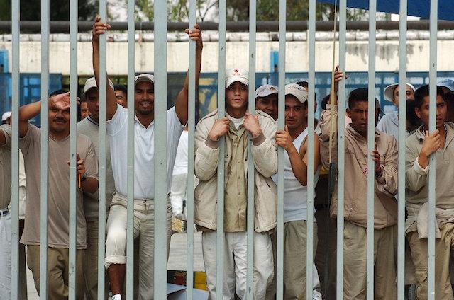 Cárceles controladas reos