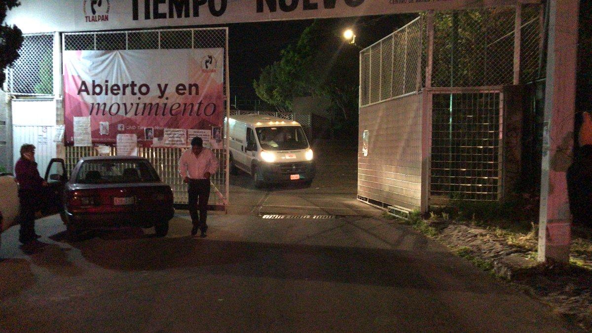 Muere niña en escuela provisional de Tlalpan