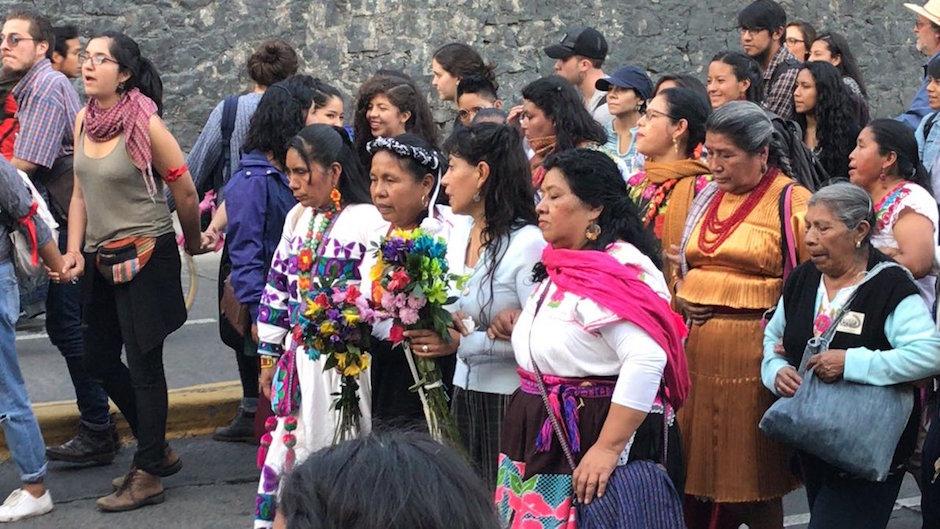 Marichuy evento en la UNAM recabar firmas