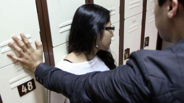 acoso sexual contra mujeres en escuelas