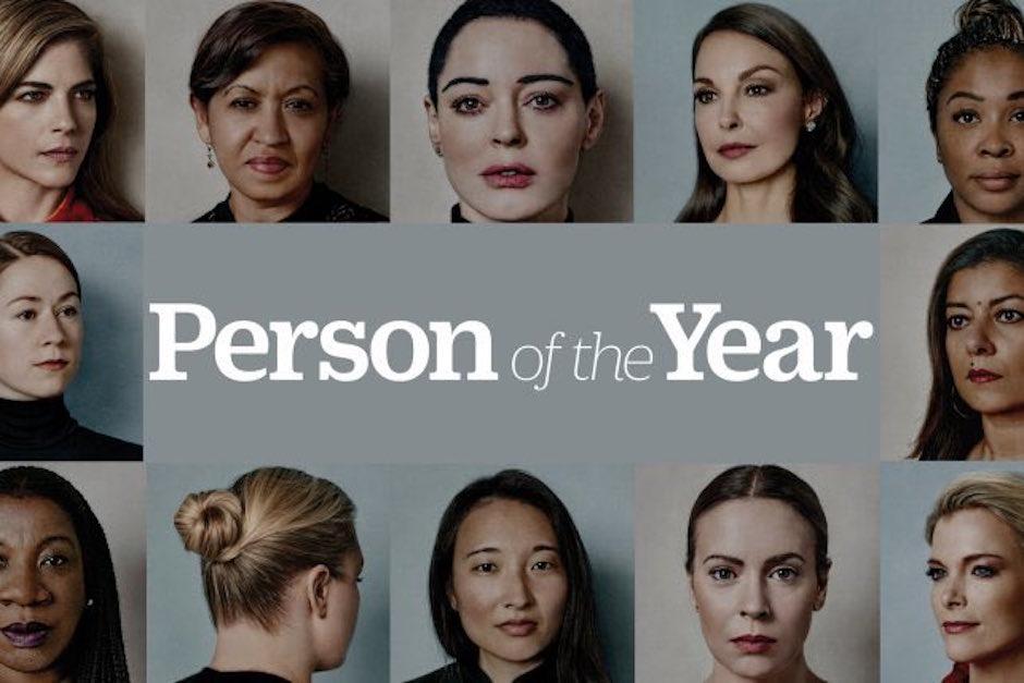 time reconoce movimiento #metoo como persona del año