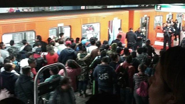balacera en metro romero rubio deja un herido