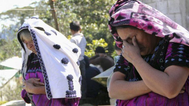 11 indígenas desplazados muertos de hambre y frío en chiapas