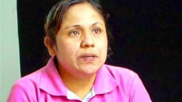 Adela García Carrizosa indígena detenida injustamente