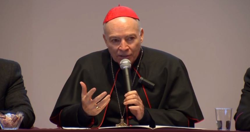 Carlos Aguiar Retes arzobispo de mexico embarazo pornografia