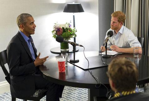 Barack Oama príncipe harry donald trump BBC