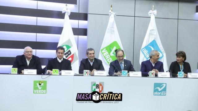 Coalición PRI PVEM y Panal tendrán que buscar otro nombre