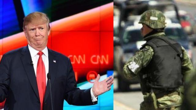 Trump recorta presupuesto a Ejército mexicano