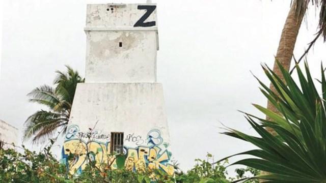 Edificio de Tulum en área protegida es marcadoe con una Z