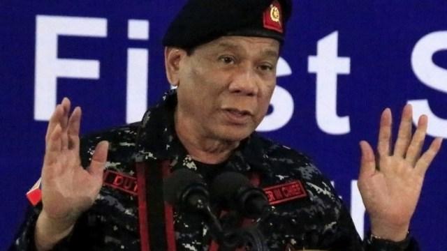 duterte dispárenme dictador filipinas constitución ejército