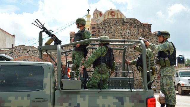 Militares abandonan Cholula, primero en presentar controversia contra #LeydeSeguridadInterior