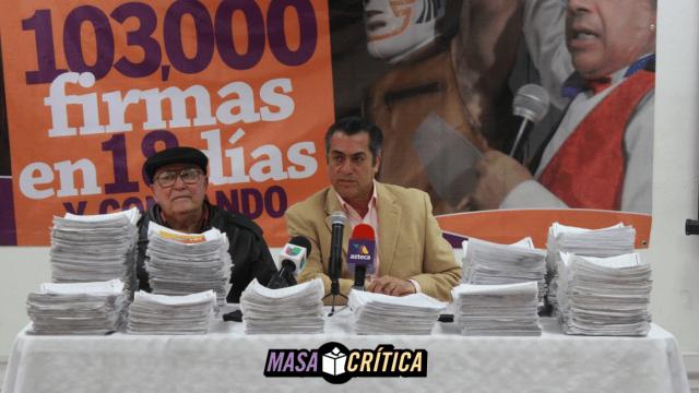 Denuncian 'mercado' ilegal de firmas para apoyo de candidatos independientes