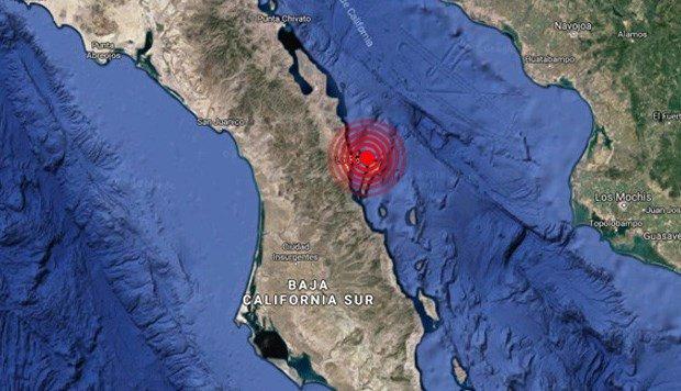 Habitantes de Loreto reaccionan así en redes al sismo