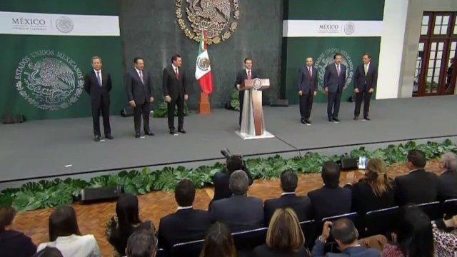 Navarrete Prida llega Segob sale Osorio Chong