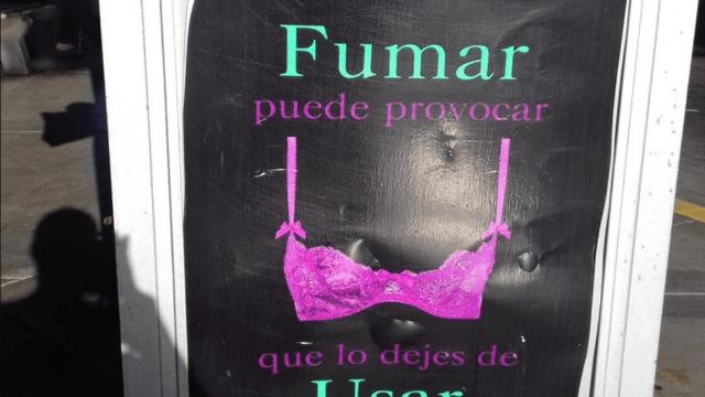 campaña salud sinaloa fumar bra mastectomia