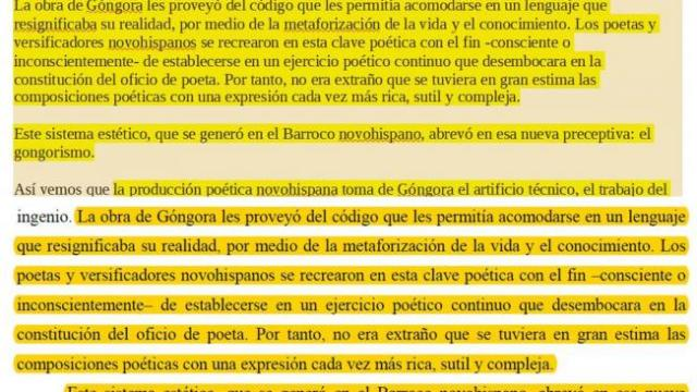 Cisneros plagio Colmex amparo tesis doctorado