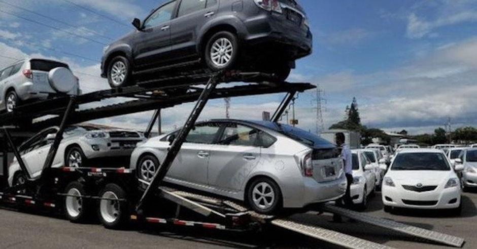 crece importación de autos en México