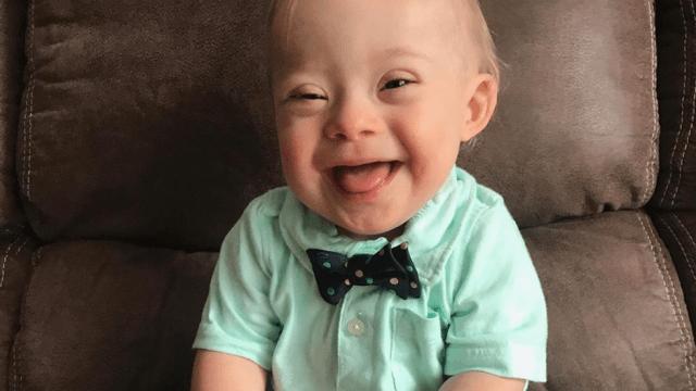 Bebé con síndrome de Down será la nueva imagen de Gerber