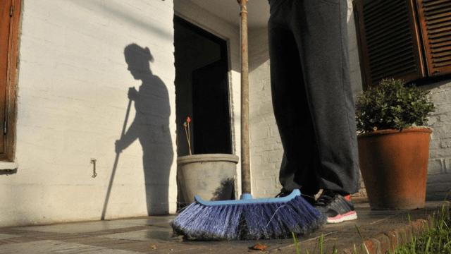 Personas trabajadoras del hogar sin derechos laborales