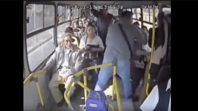 Así es como asaltan fuera de la UNAM [VIDEO]