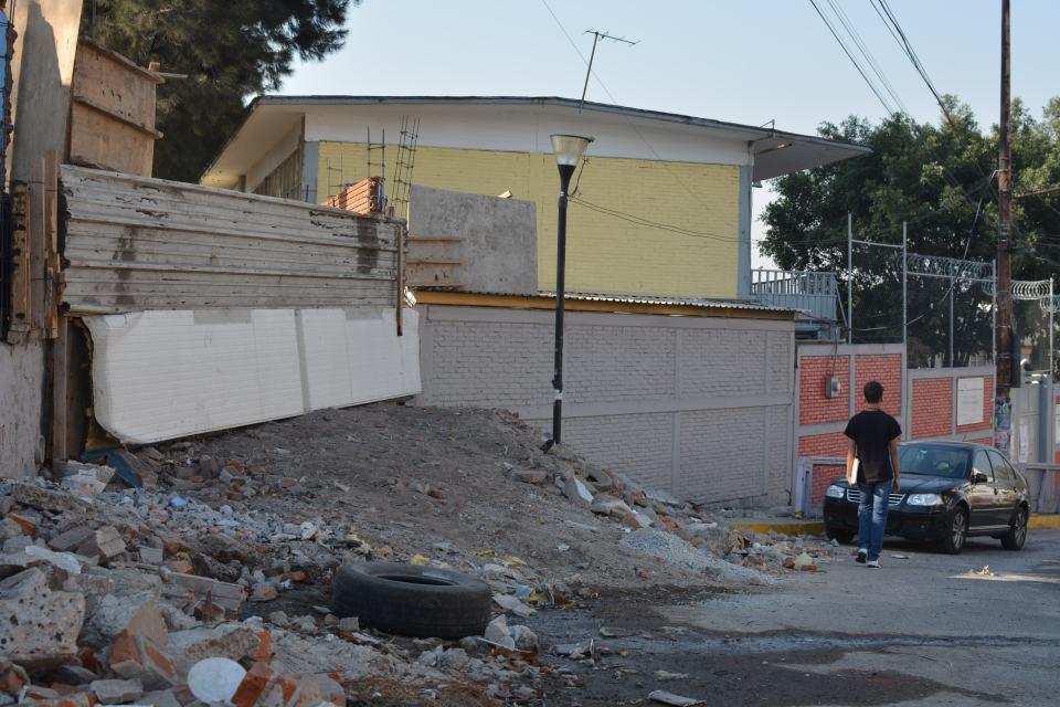 Kínder a unas cuadras de la primaria Estado de Morelos, ya está siendo rehabilitada