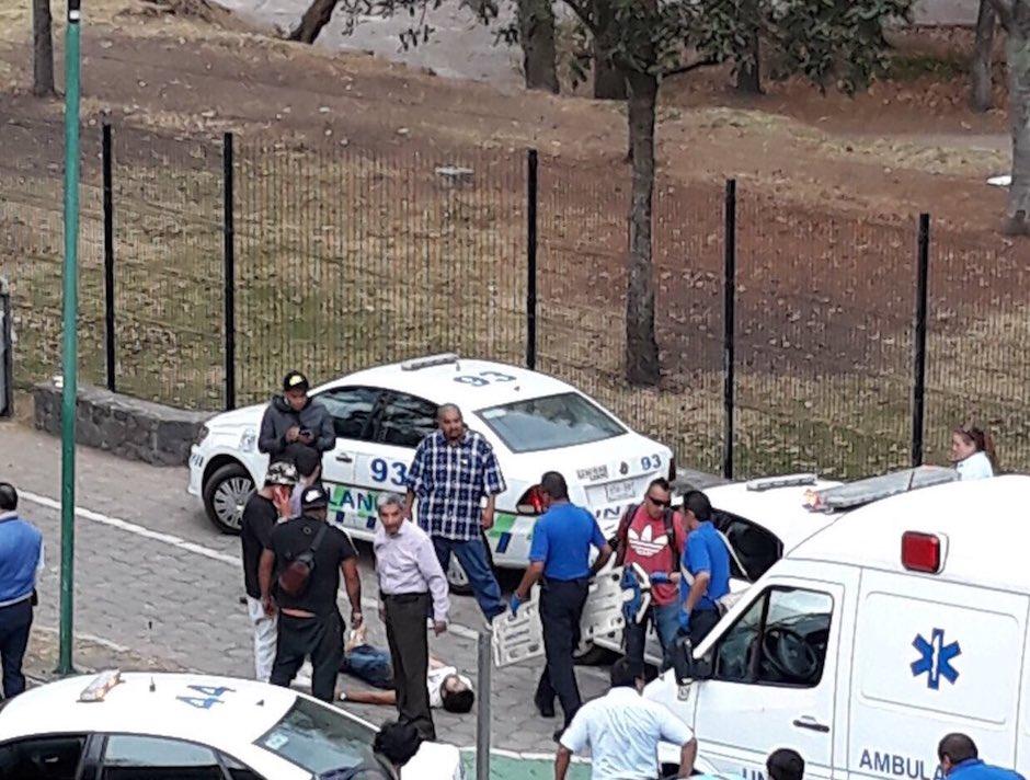 Balacera en frontones de CU; hay dos heridos