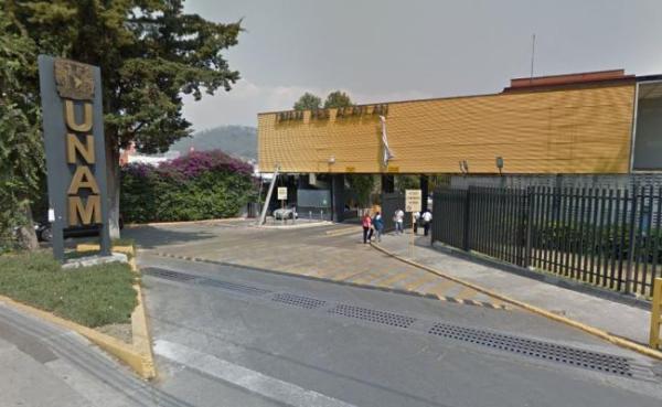 Entrada de la FES Acatlán, en Naucalpan
