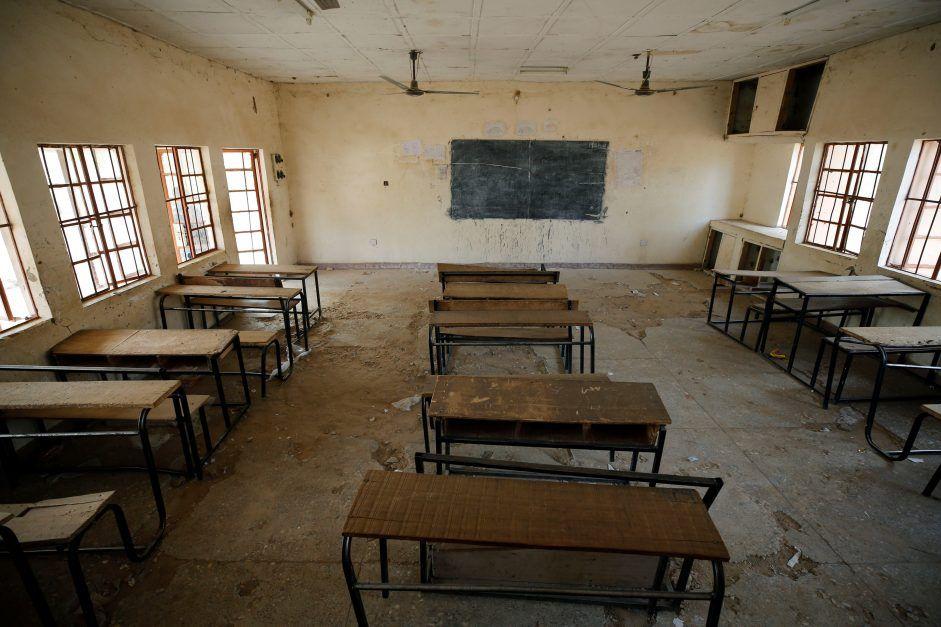 Salón vacío tras secuestro de Boko Haram