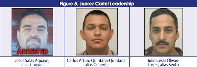brazo armado del Cártel de Juárez