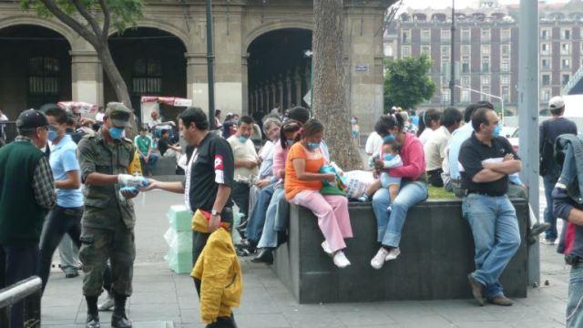 La Secretaría de Salud advierte de un aumento en los contagios de influenza en México.