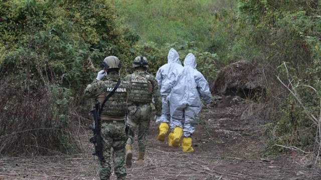 Hallan superlaboratorio de metanfetaminas en Jalisco del CJNG