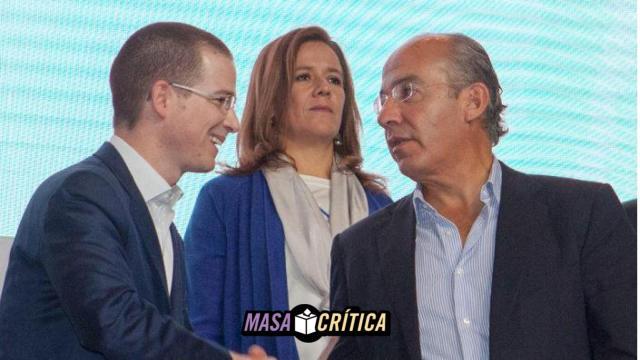 Calderón dice que Anaya miente; él responde 'no le crean a los del PRI'